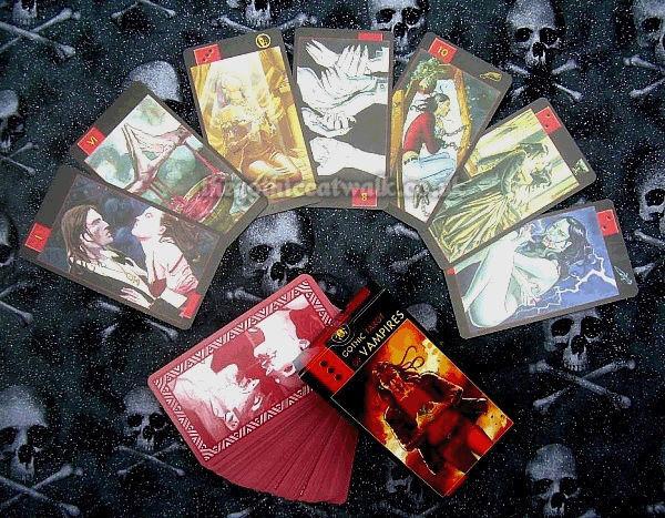 Gothic Vampire Tarot Cards