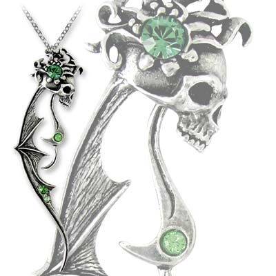 Ghost of Past Love Necklace by Alchemy Gothic  -