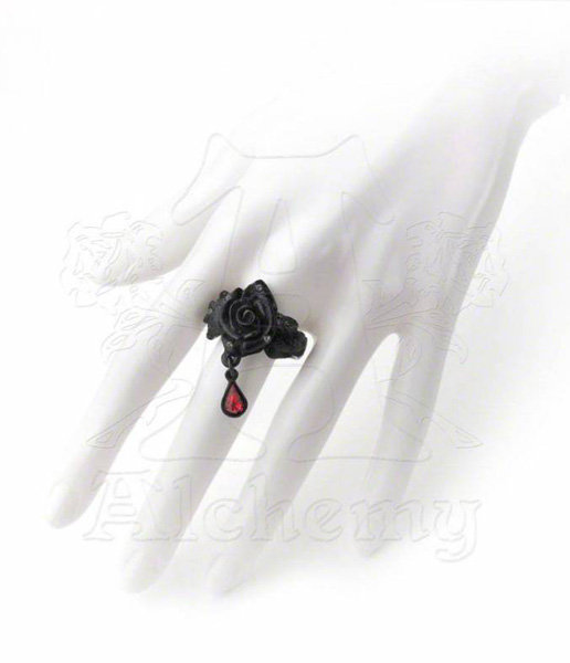 Alchemy Gothic Ring - Rose of Passion