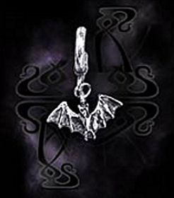 Fledermaus Ring Stud by Alchemy Gothic