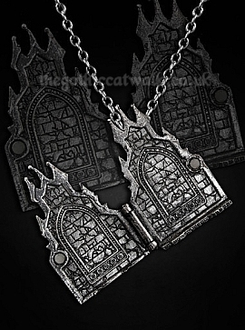 Gothic Fairytale Haunted Castle Necklace