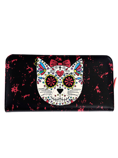 Banned Sugar Kitty Gothic Punk Wallet