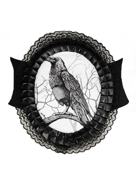 Restyle Raven Gothic Cameo Belt