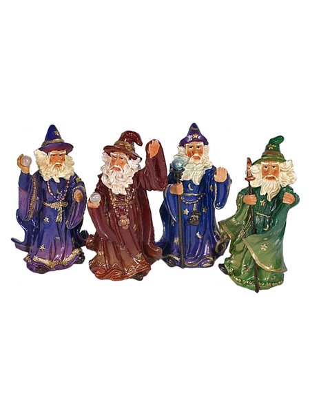 Small Wizard Figurine