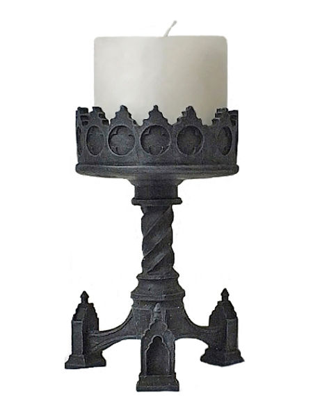 Gothic Medieval Candle Holder
