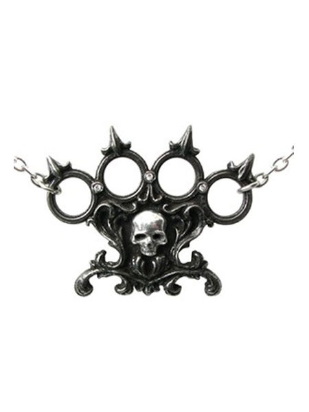 Lisbeth's Kiss Necklace by Alchemy Gothic
