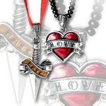 Love & Hate Necklace by Alchemy UL17