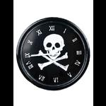 Gothic Punk Skull Wall Clock