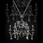 Gothic Fairytale Baroque Chandelier Necklace