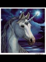 Sacred Unicorn Greetings Card