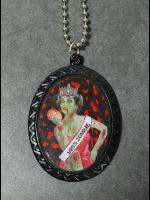 Pulp Fiction Cameo Necklace - Miss Zombie