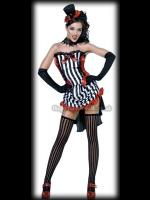 Gothic Burlesque Showgirl Costume
