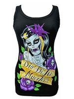Day of the Dead Beater Vest Top