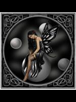 Sexy Gothic Fairy Greetings Card