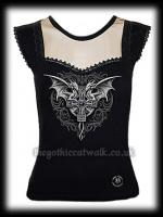 Gothic Dragons Bodice Top