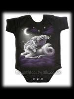 Baby's Black Gothic One Piece - Sweet Dreams