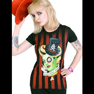 Sideshow Mary Black Steampunk T-Shirt