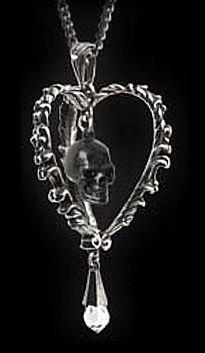 Death of the Heart Necklace by Alchemy Gothic