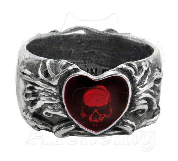 Alchemy Gothic Ring - Broken Heart