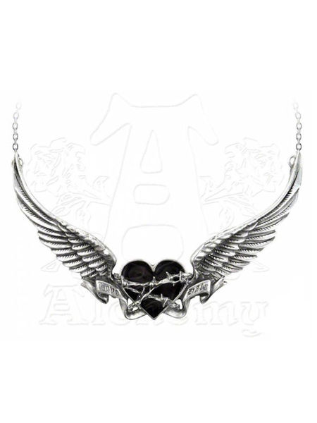 Black Romance Necklace by Alchemy Gothic