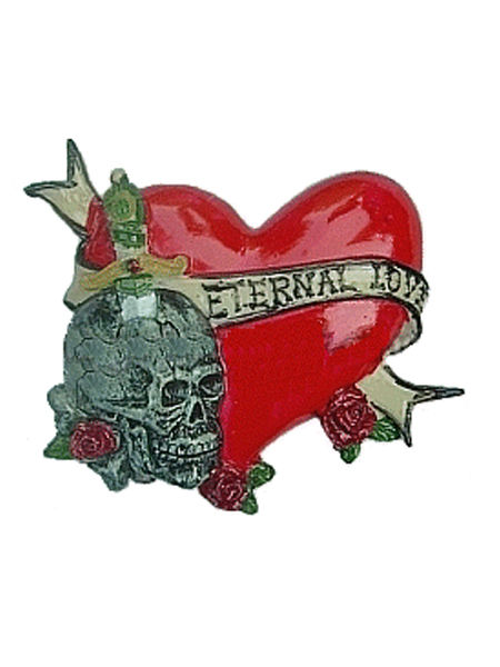 Tattoo Inspired Magnet - Eternal Love #2