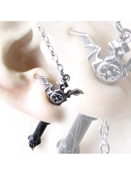 Ruthven Cross Earring by Alchemy Gothic