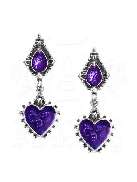 Mirror of the Soul Earrings by Alchemy Gothic