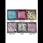 Animal Print Compact Handbag Mirror - Choice of Colours
