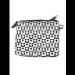 Black and White Mini Skulls Punk Coin Purse