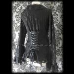 Black Lace Gothic Corset Jacket