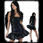 Dark Angel Costume with Wings