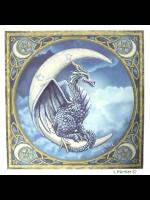 Dragon Moon Greetings Card