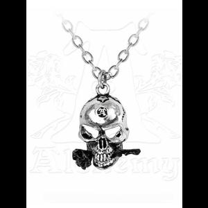 The Alchemist Skull Necklace by Alchemy Gothic